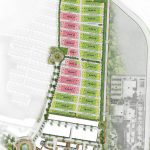 Site Plan Cluster Allura Lavon City Cikupa