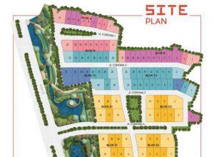 Site Plan Tanah Kavling Corona Lavon Swan City