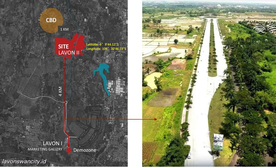 Posisi Lavon 2 Tangerang