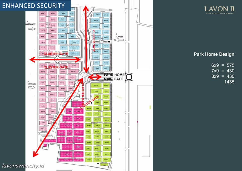 Lavon 2 Park Home Site Plan
