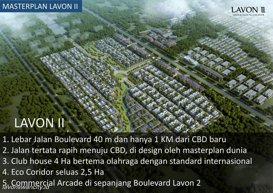 Lavon 2 Tangerang Master Plan