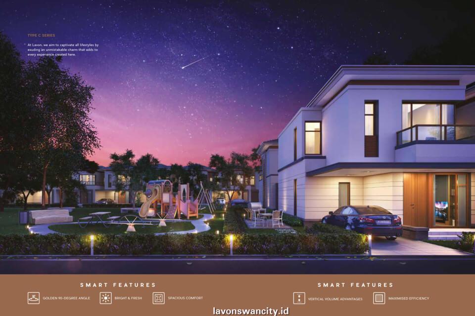 Rumah Cluster Regalia C-Series