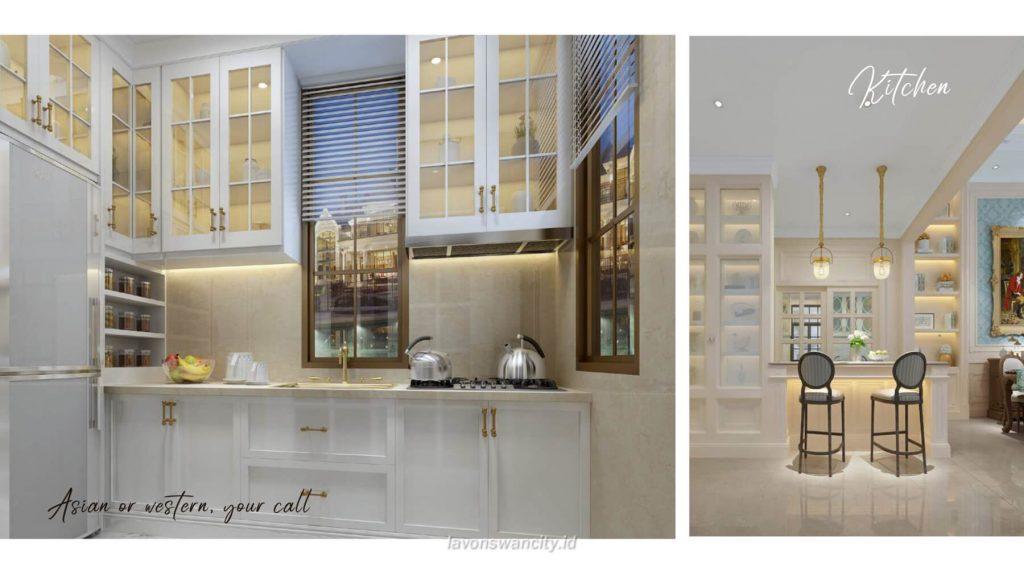 Rumah Cluster Fuji Daisan Lavon 3 - Interior Kitchen
